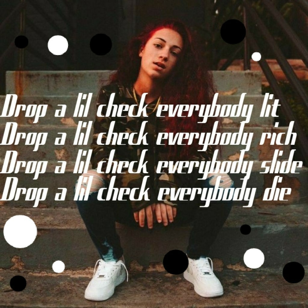 Tap!  This is simple as frik 😂  Bhad Bhabie~ Babyface Savage