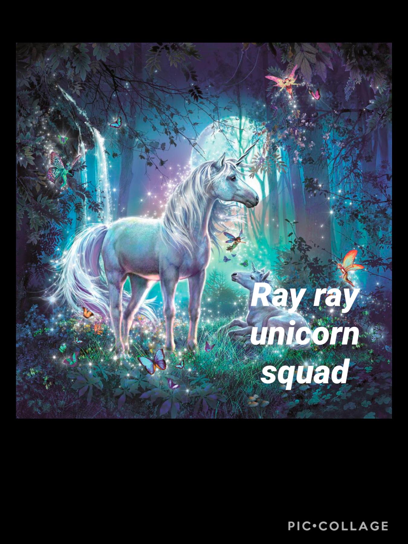 Ray ray unicorn squad
