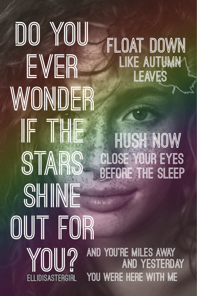 Ed Sheeran (Autumn Leaves)