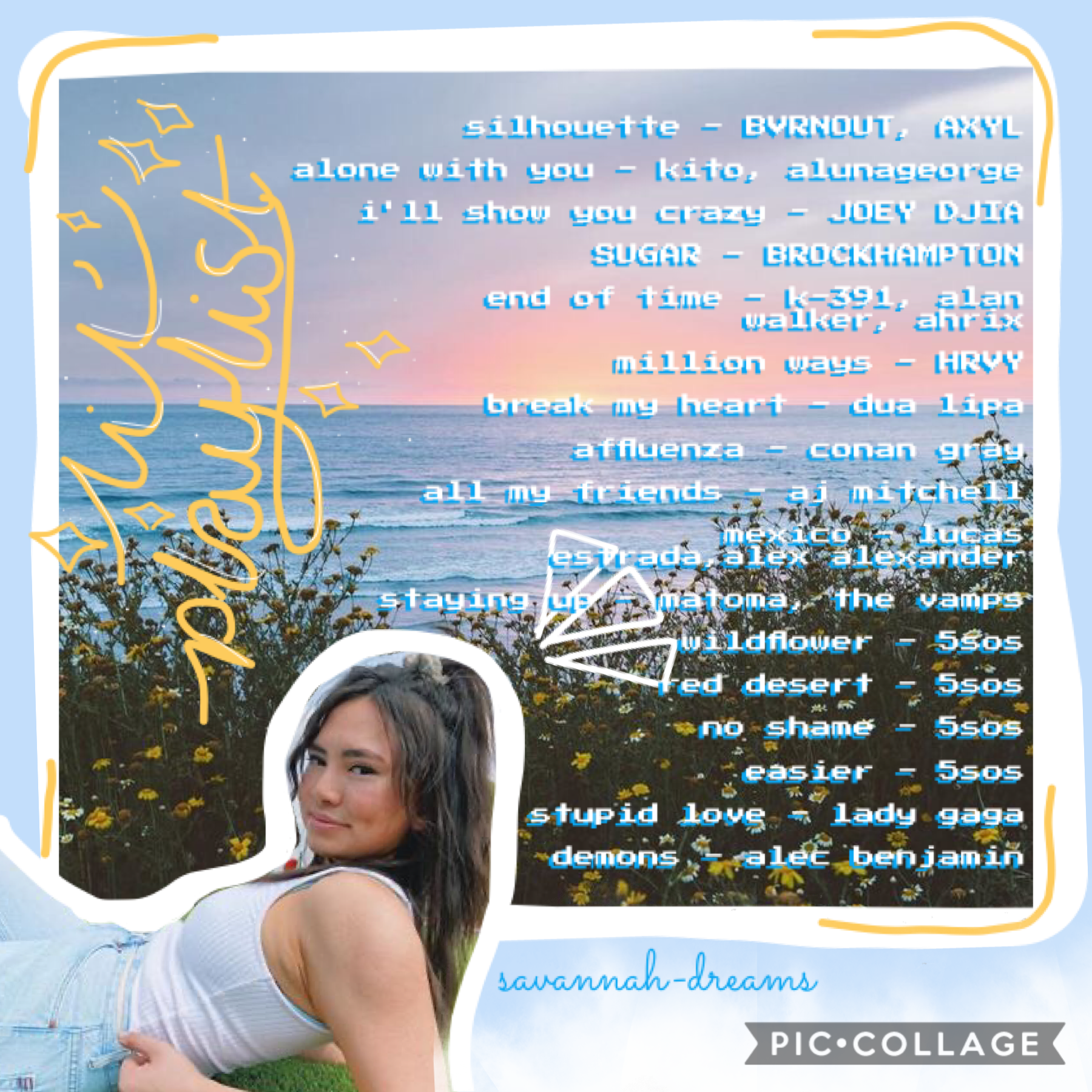 ✨quarantine/online school song recommendations ;) 🌊🌞anyone else watch haley pham on yt?? haha she's the best 🌿🦩lol guess who's an idiot and totally wrote something that wasn't a word 🤦🏼♀️