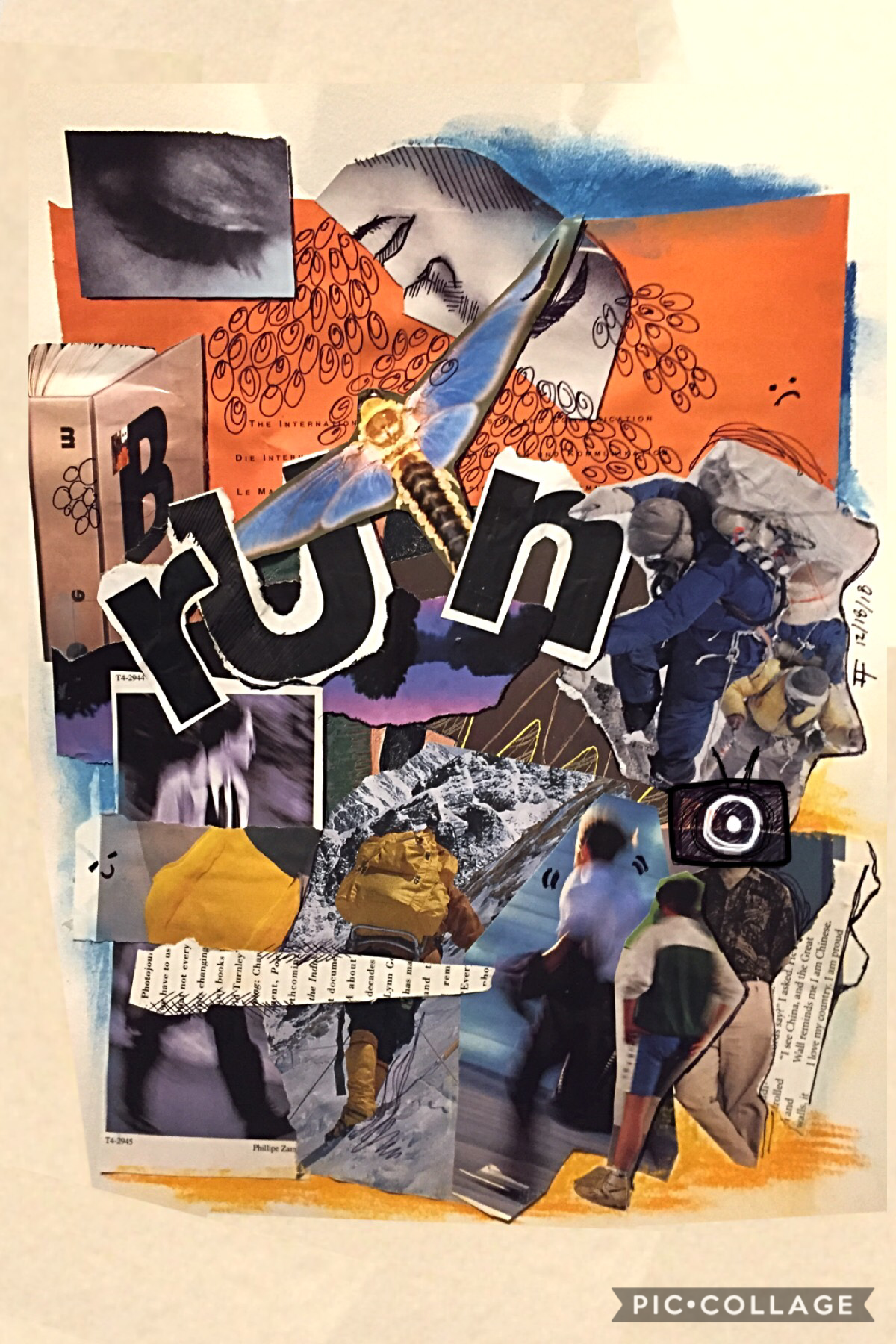 another one of these paper collages i made
