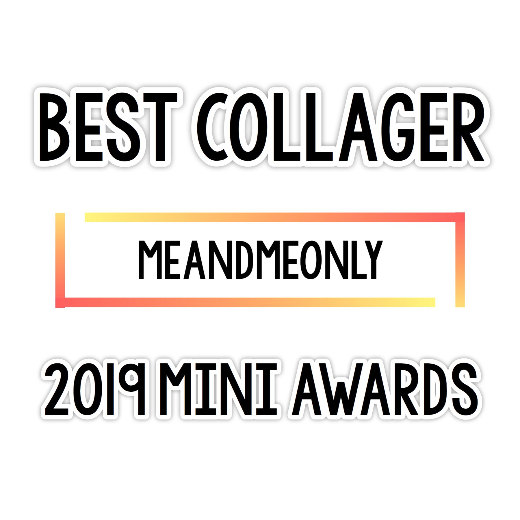 Congratulations meandmeonly !