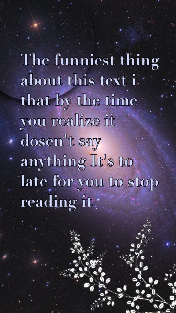 A little text