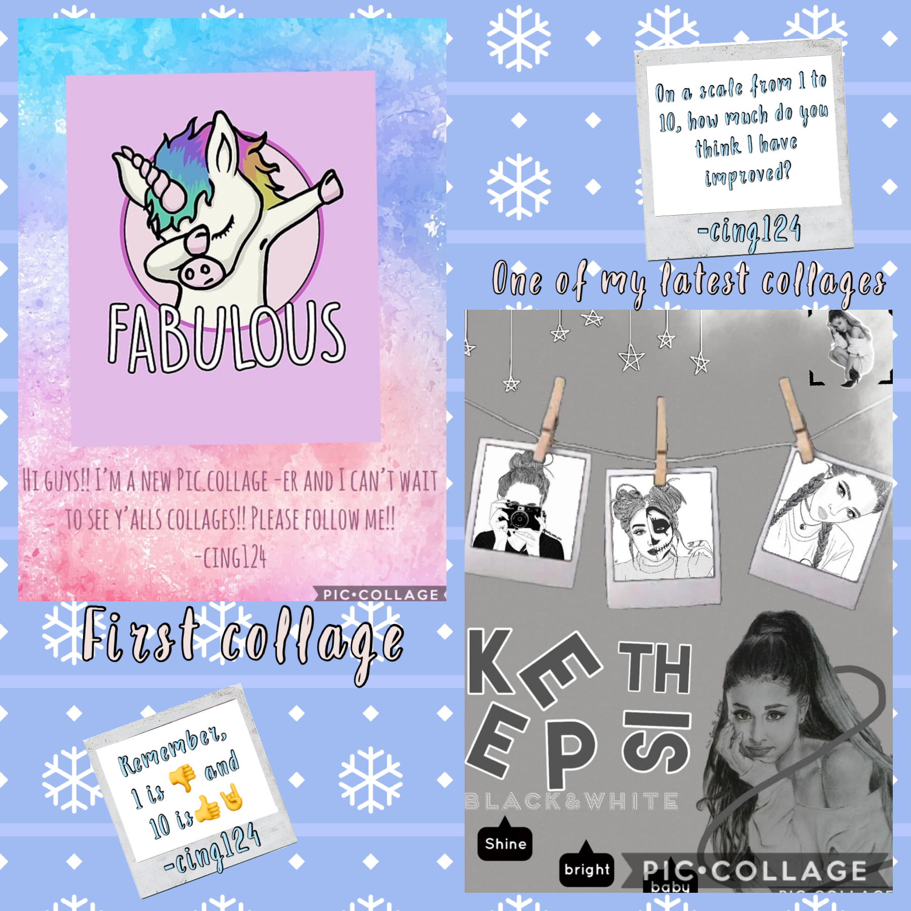 💙TAP💙 All I want for Christmas is some feedback from my followers! L💙VE YA!😘