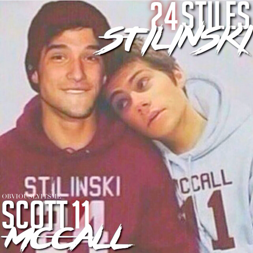 I've recently become obsessed with teen wolf so of course I had to make this