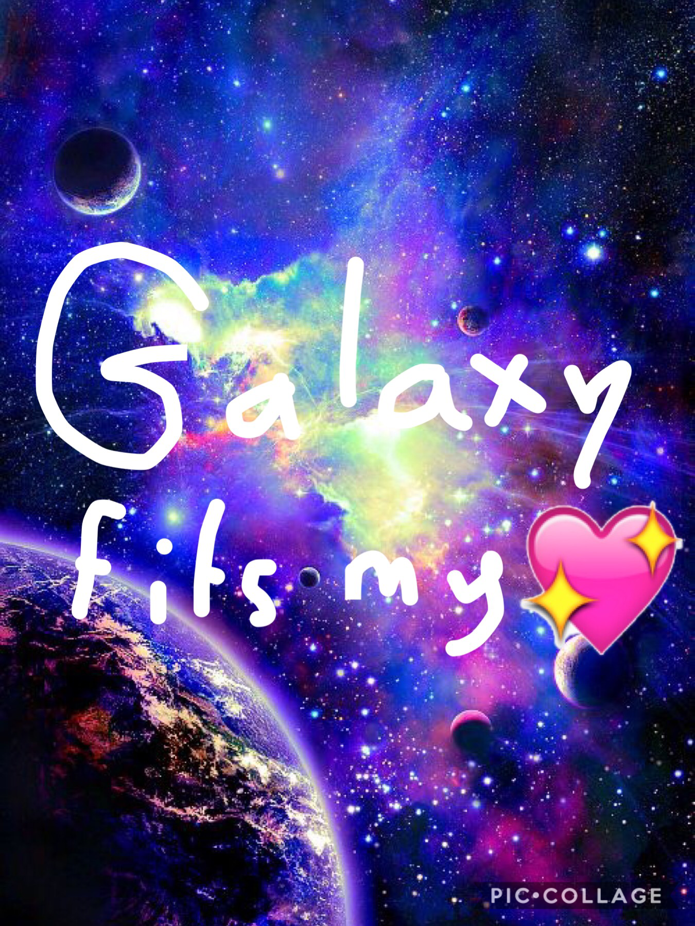Galaxy fits my heart