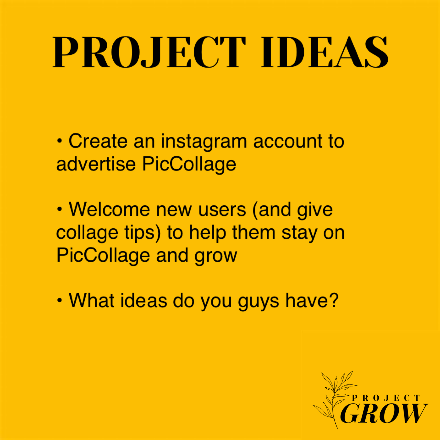 || PROJECT IDEAS ||