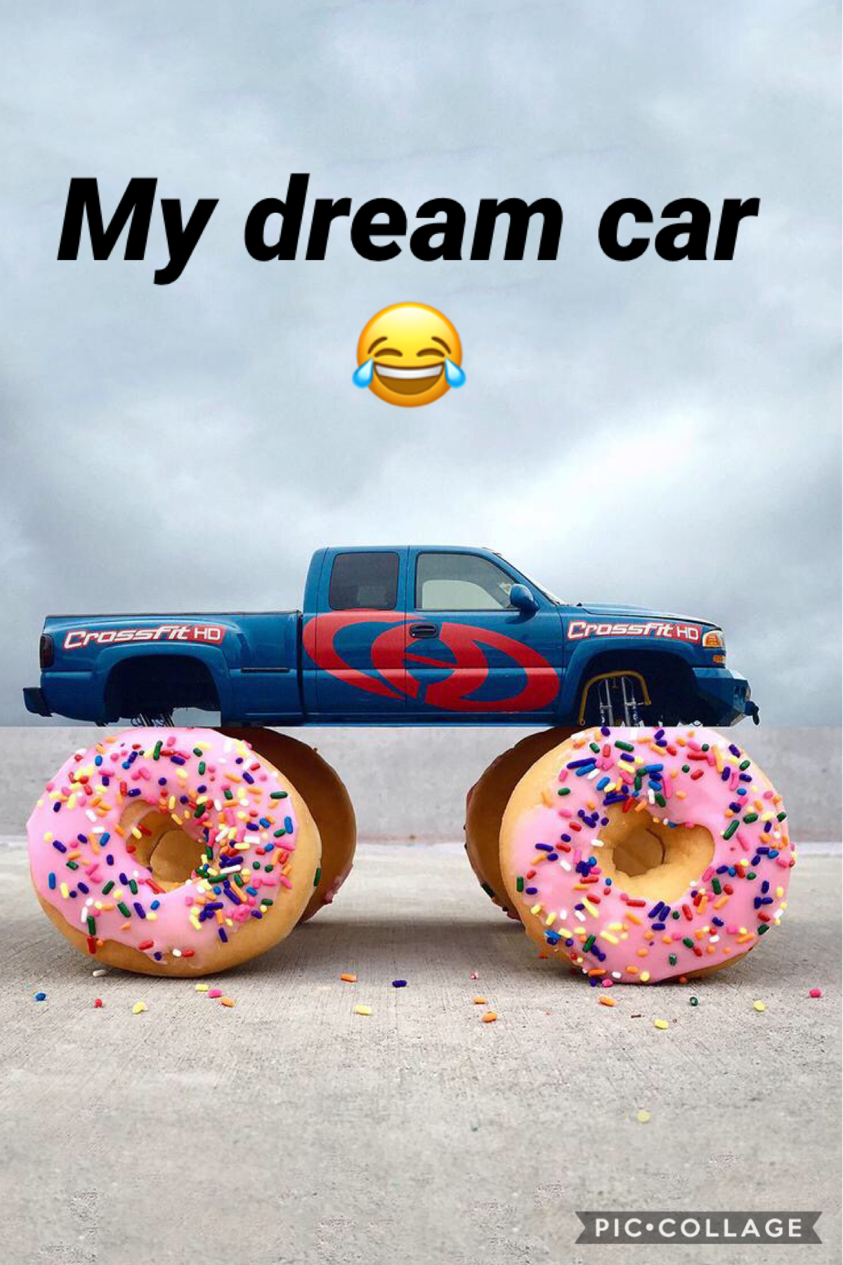 I love donuts...especially strawberry frosted ones...this is my dream car. Lol! 😂