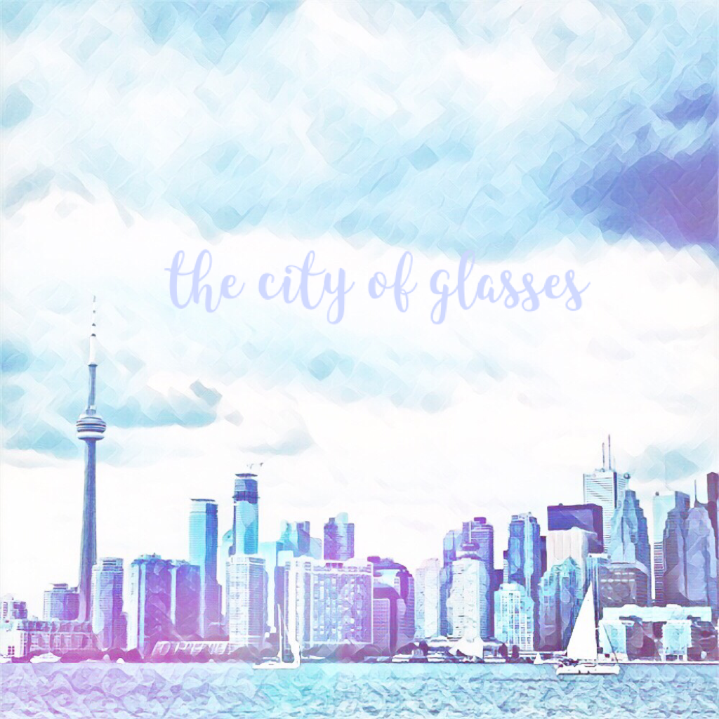 the city of glasses 💙