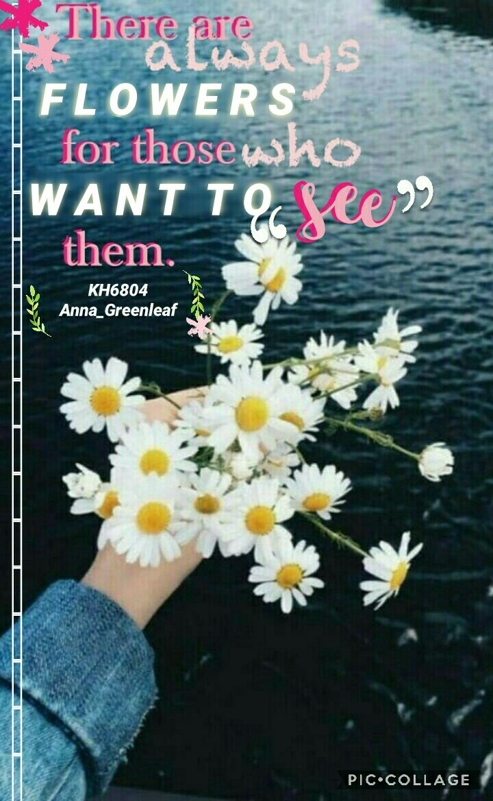 """🌼collab with the awesome...🌼 🌿Anna_Greenleaf!! she made the text she did super amazing!!! go check out my bestie's page for more mind blowing collages!! pic creds to lemondrops-! check comments :"""") you want to collab say so in the comments too! 👇👇🌿"""