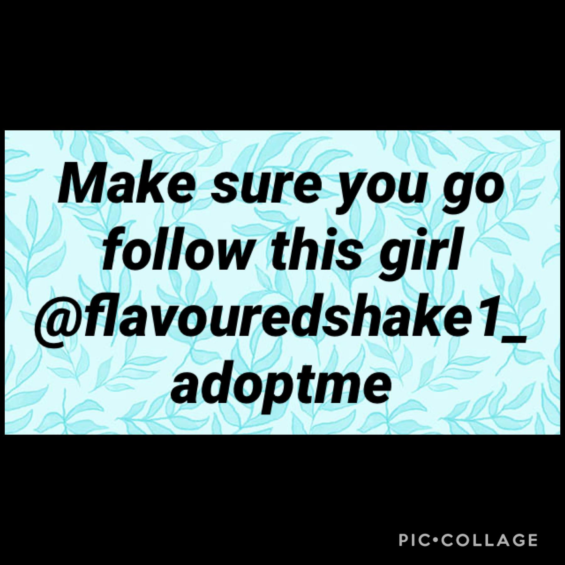 Pls follow her