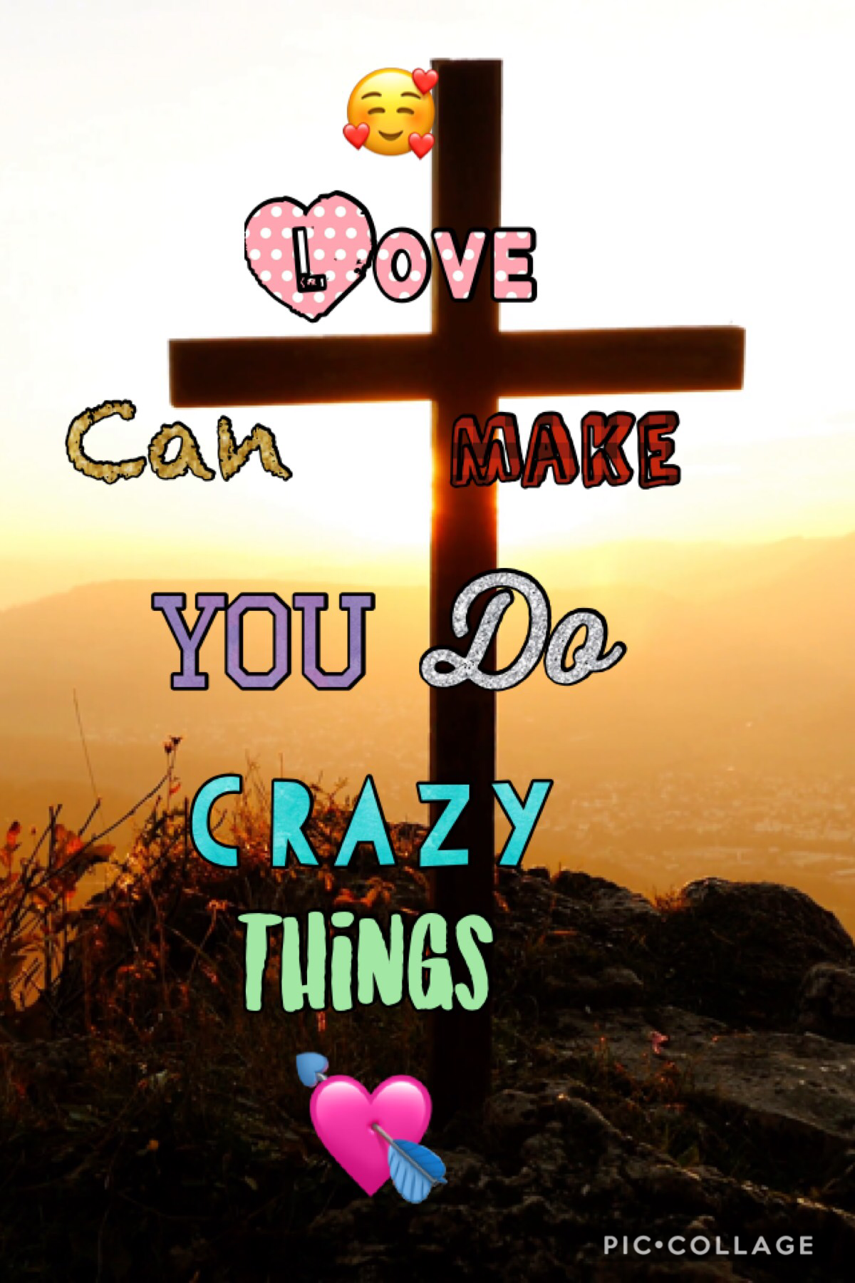 Love can make you do crazy things💘💝💖