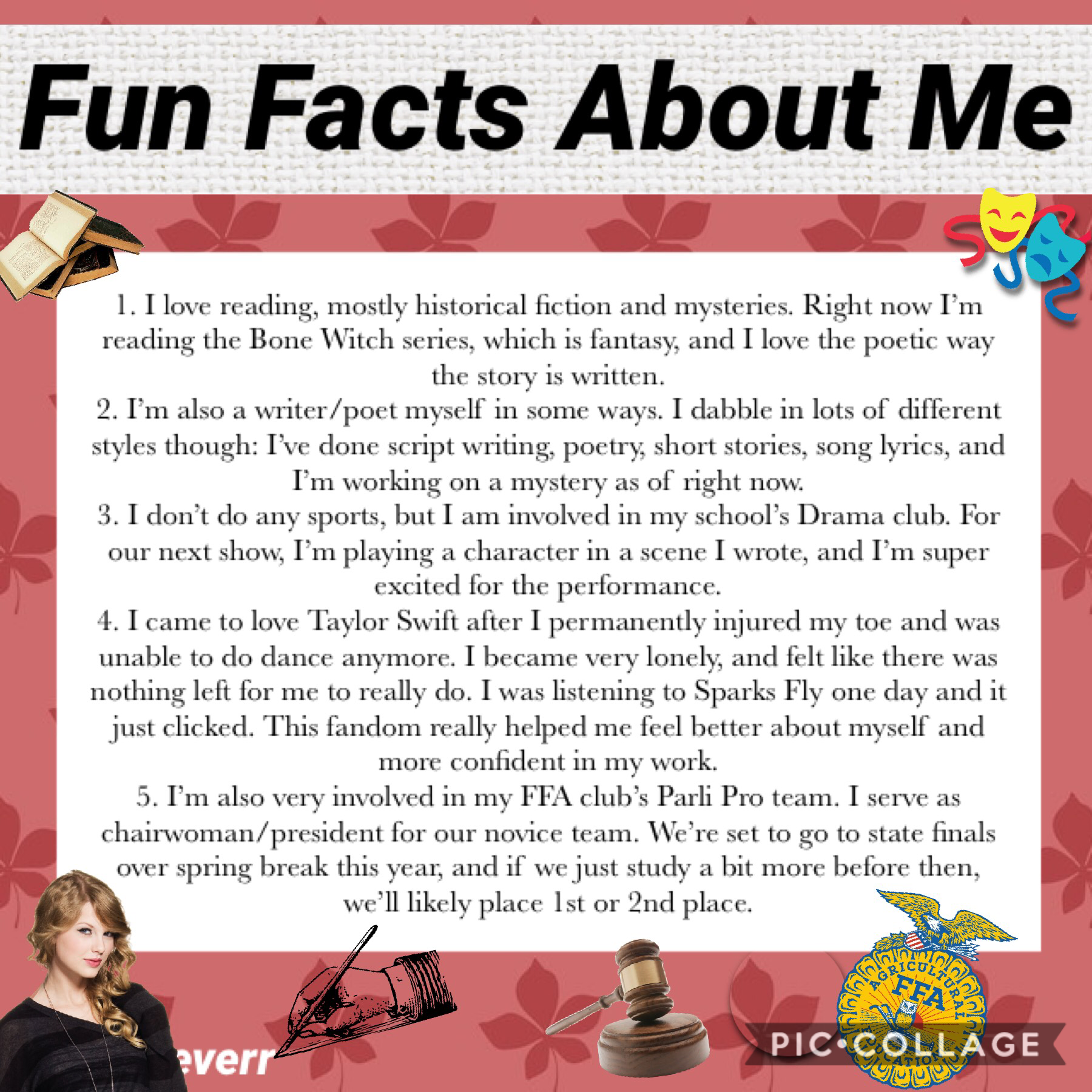 ❤️TAP❤️ I haven't updated this account with anything about myself for a long time, so I thought I could restart my 5 fun facts per week for a month or so. (No question since I've already posted a lot today)