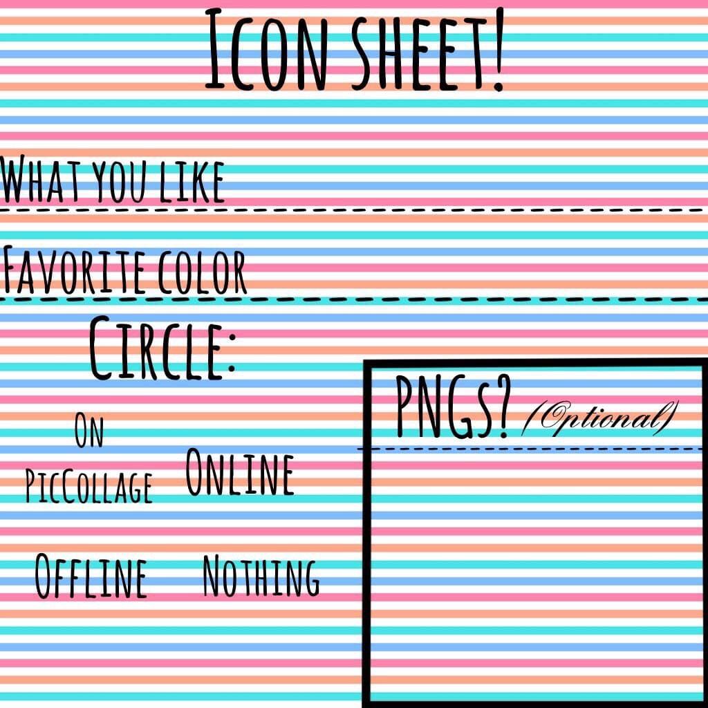 Icon sheet!!!