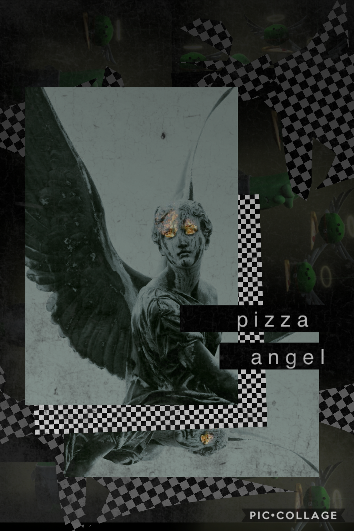 pizza angel, please come to me let's see if anyone notices this is crack from VeggieTales I made a playlist of weird crāp on Spotify so if y'all have any recommendations for that HMU ✌️