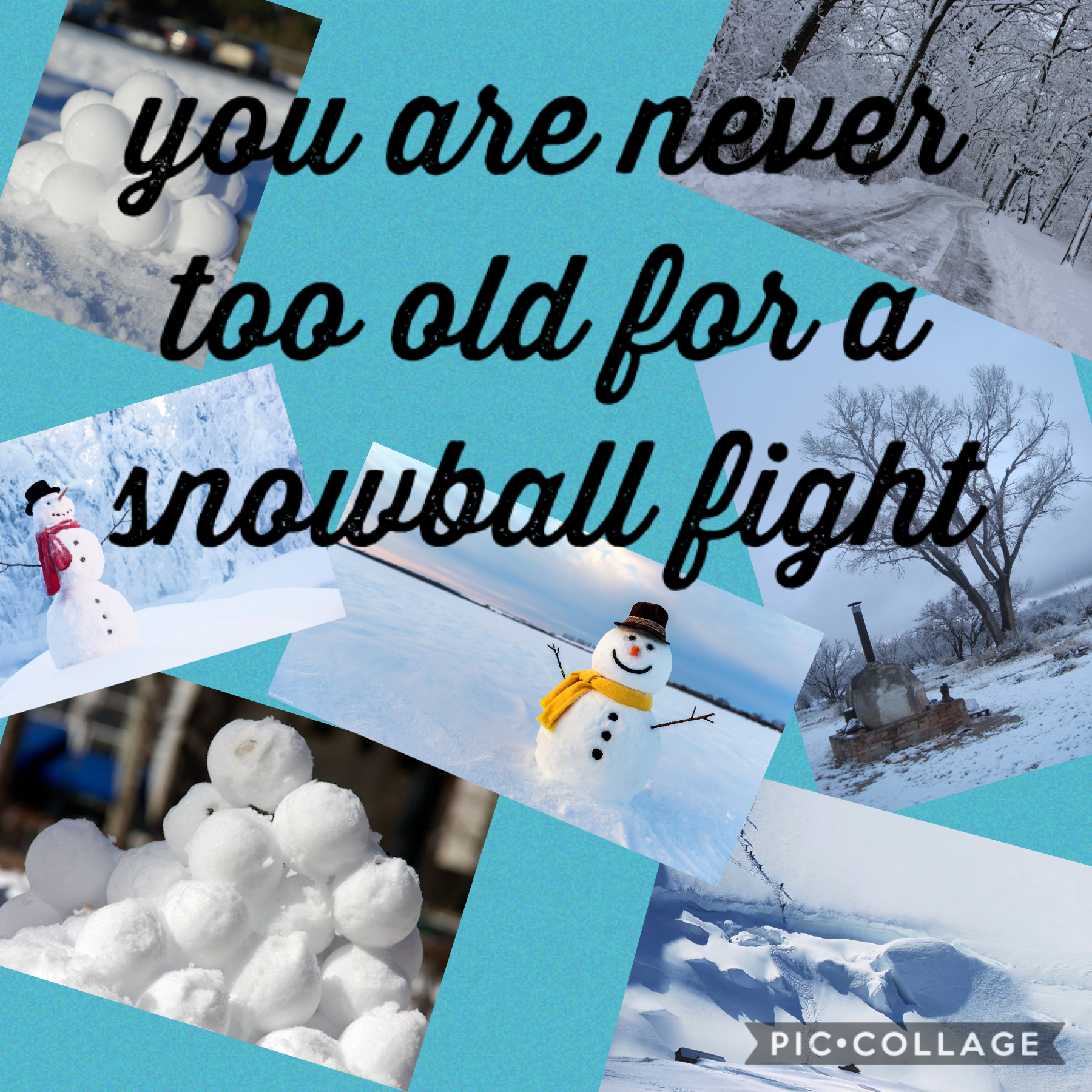 i love the snow ❄️⛄️