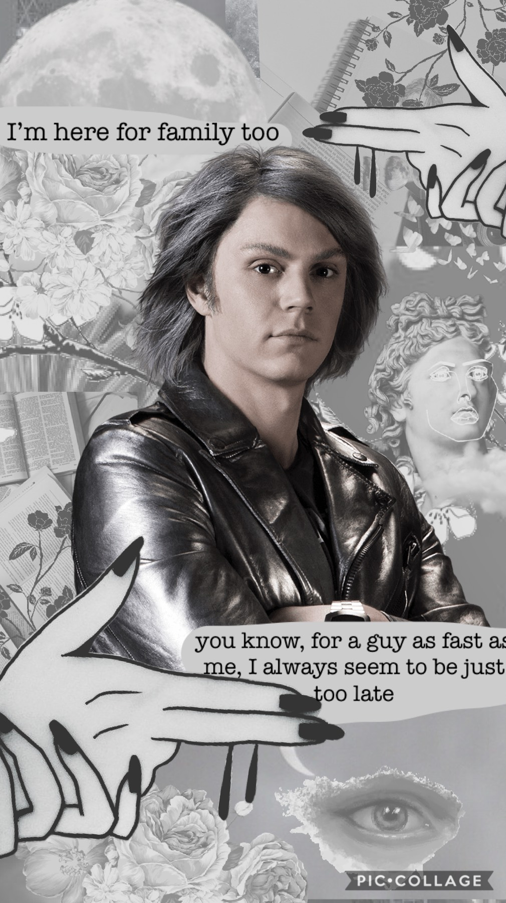 Tap   Quicksilver x men phone wallpaper. This is literally my new home screen!! Tysm for 800 followers!! 😱💖 I love you all and I cannot tell you how grateful I am xx