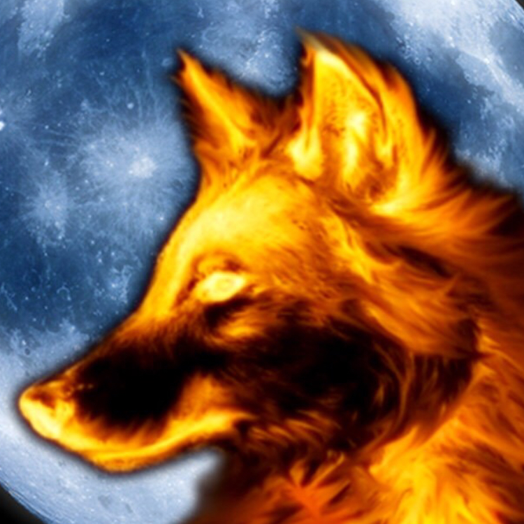 огненный волк картинки еще варианты