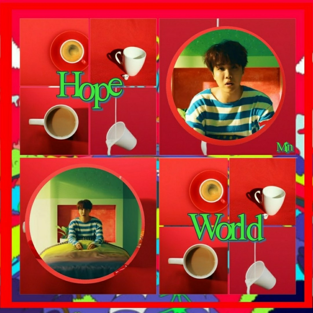 Here's an edit which doesn't rlly look good but whatever CUZ HOBI'S MIXTAPE IS MY LIFE AND ITS SO SO SO BEAUTIFUL AND LIT AND MY FAV'S ARE HOPE WORLD, BASE LINE AND DAYDREAM OML I LOVE OUR TALENTED SUNSHINE 😭😭👌
