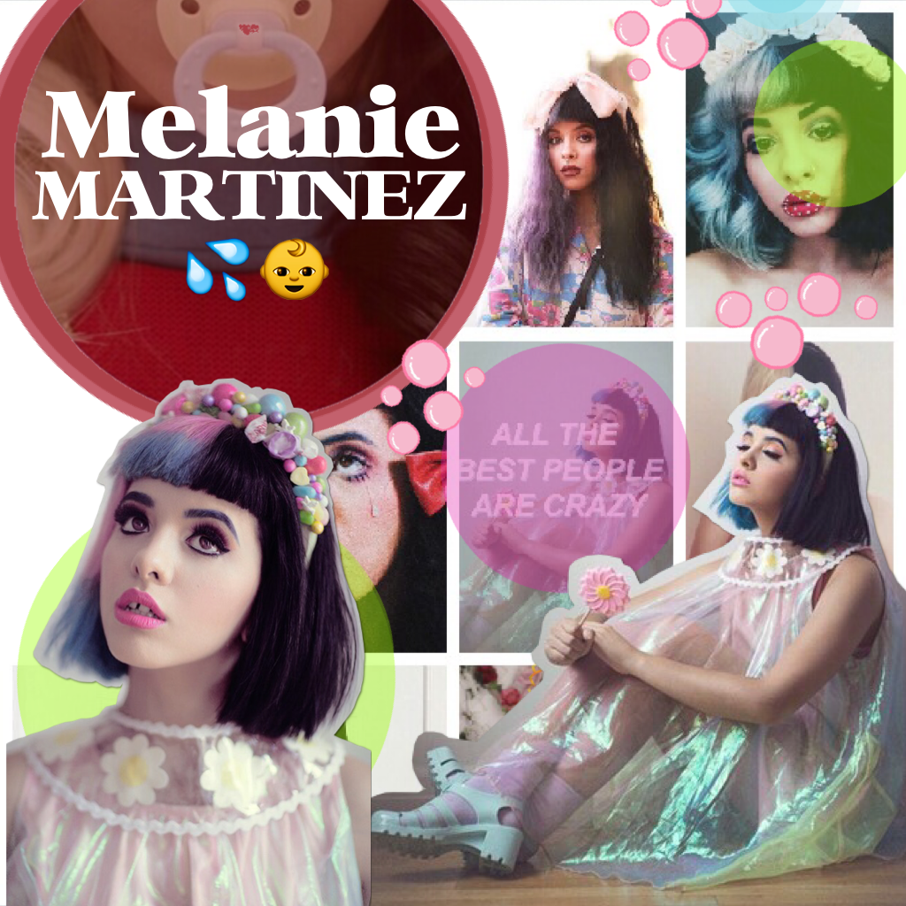 Melanie Martinez!✨💕 I love her music and her hair!!🦄💦