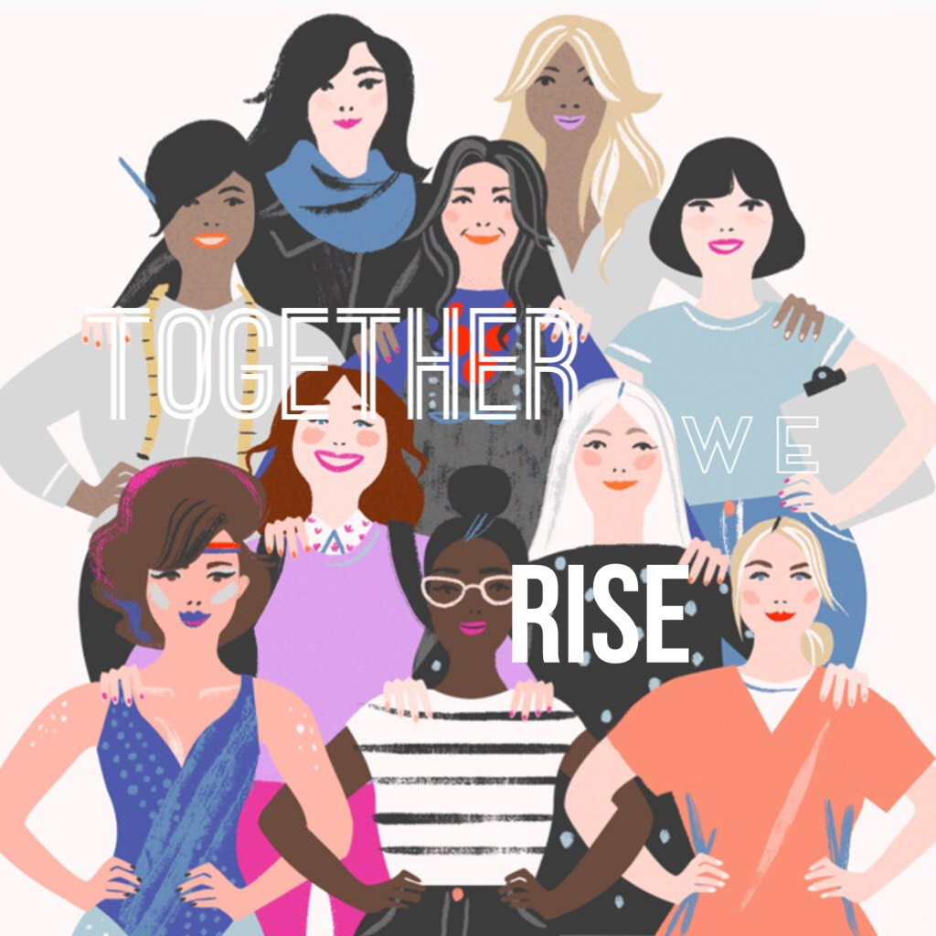 Tap!  Together we can do anything! And when I say together, I mean any race, any religion, any profession, any romantic interests to any gender, trans, etc. BECAUSE TOGETHER WE CAN💪❤️