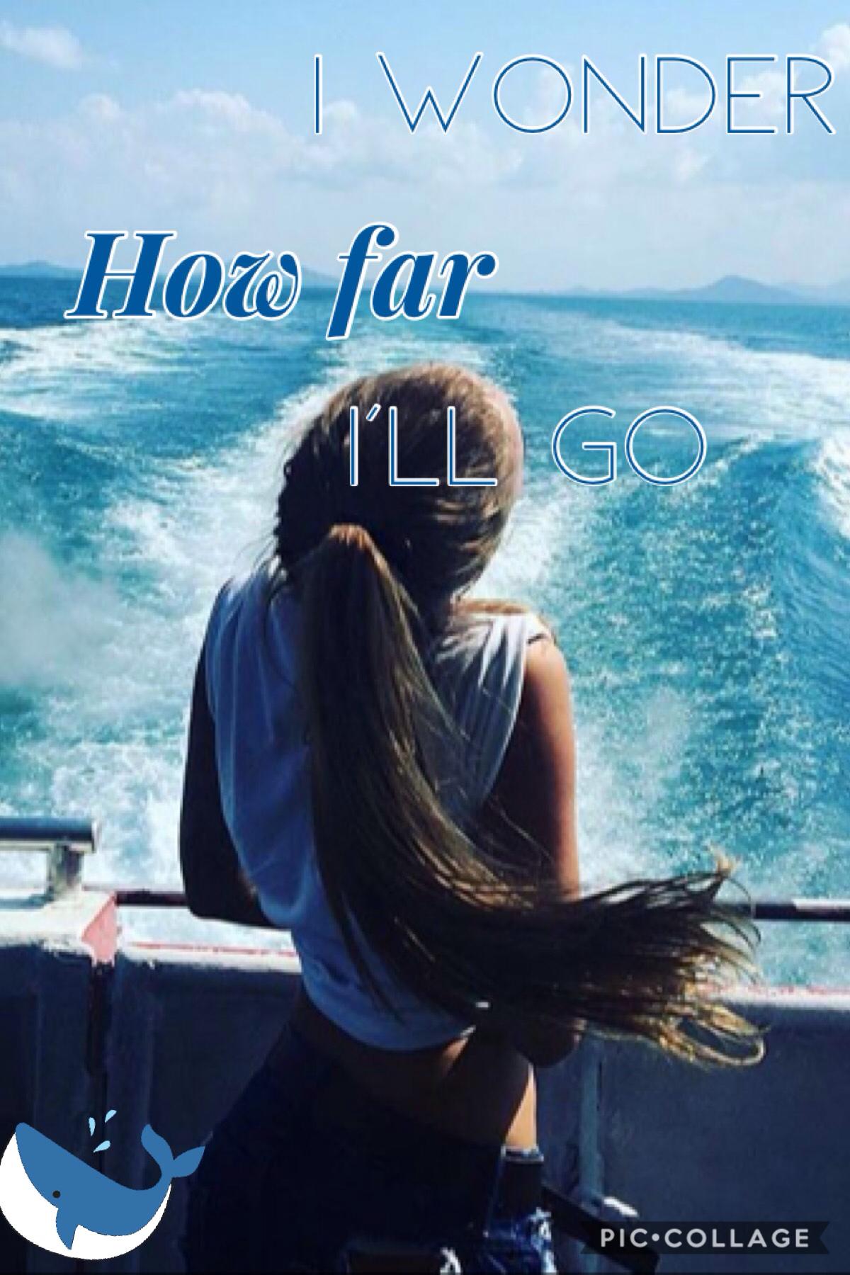 I love Moana!🐳TAPPY🐳 LIVE HAPPILY!