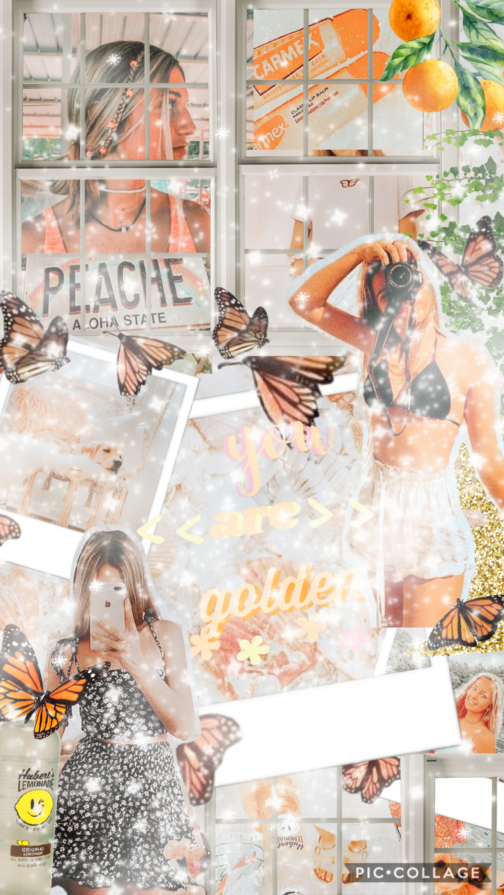 🦋tap🦋 7/31/20 this was inspired by dreaming happily i really like how it turned out! should i do more collages like these??