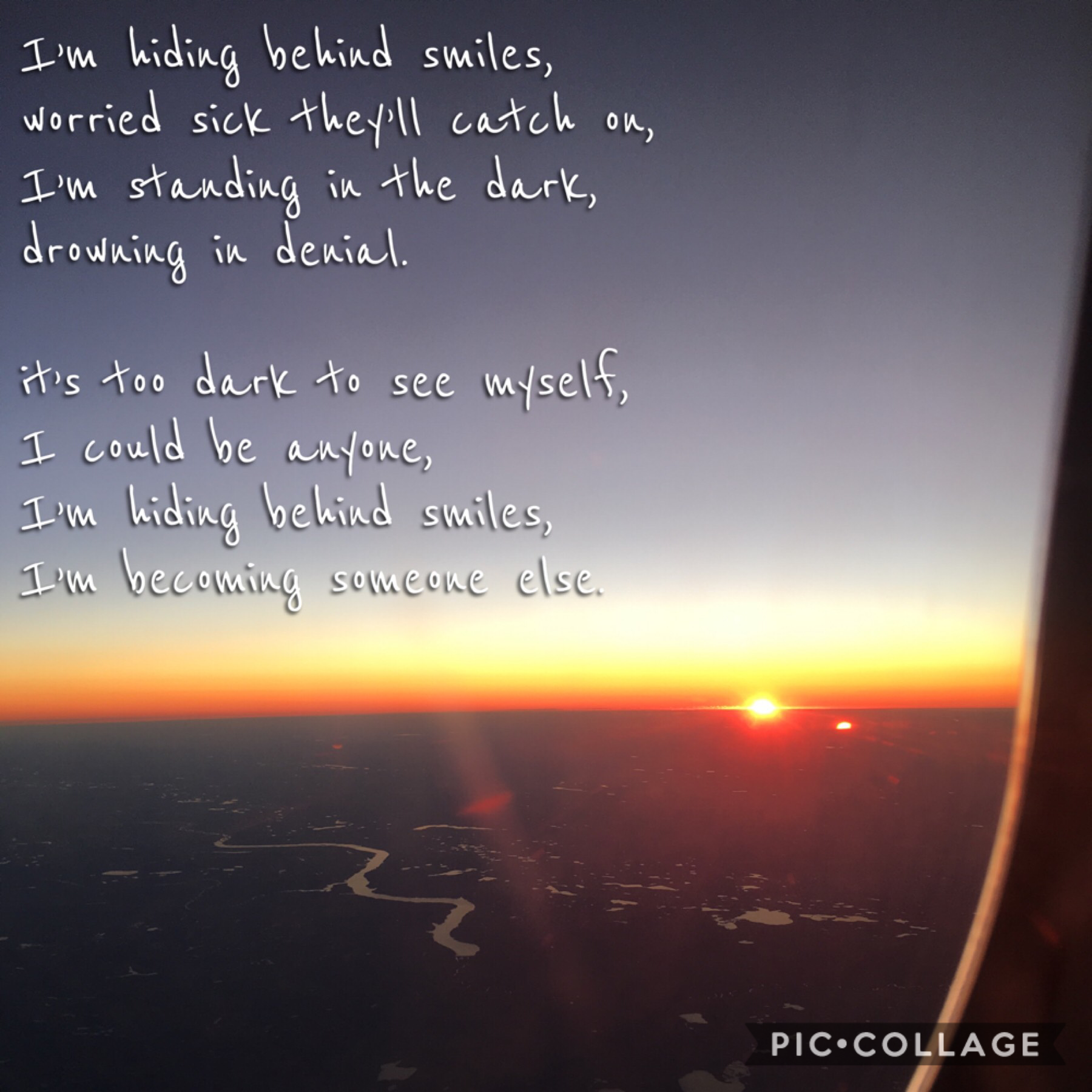 I wrote a poem and took this picture. Which do you prefer: sunrise or sunset?