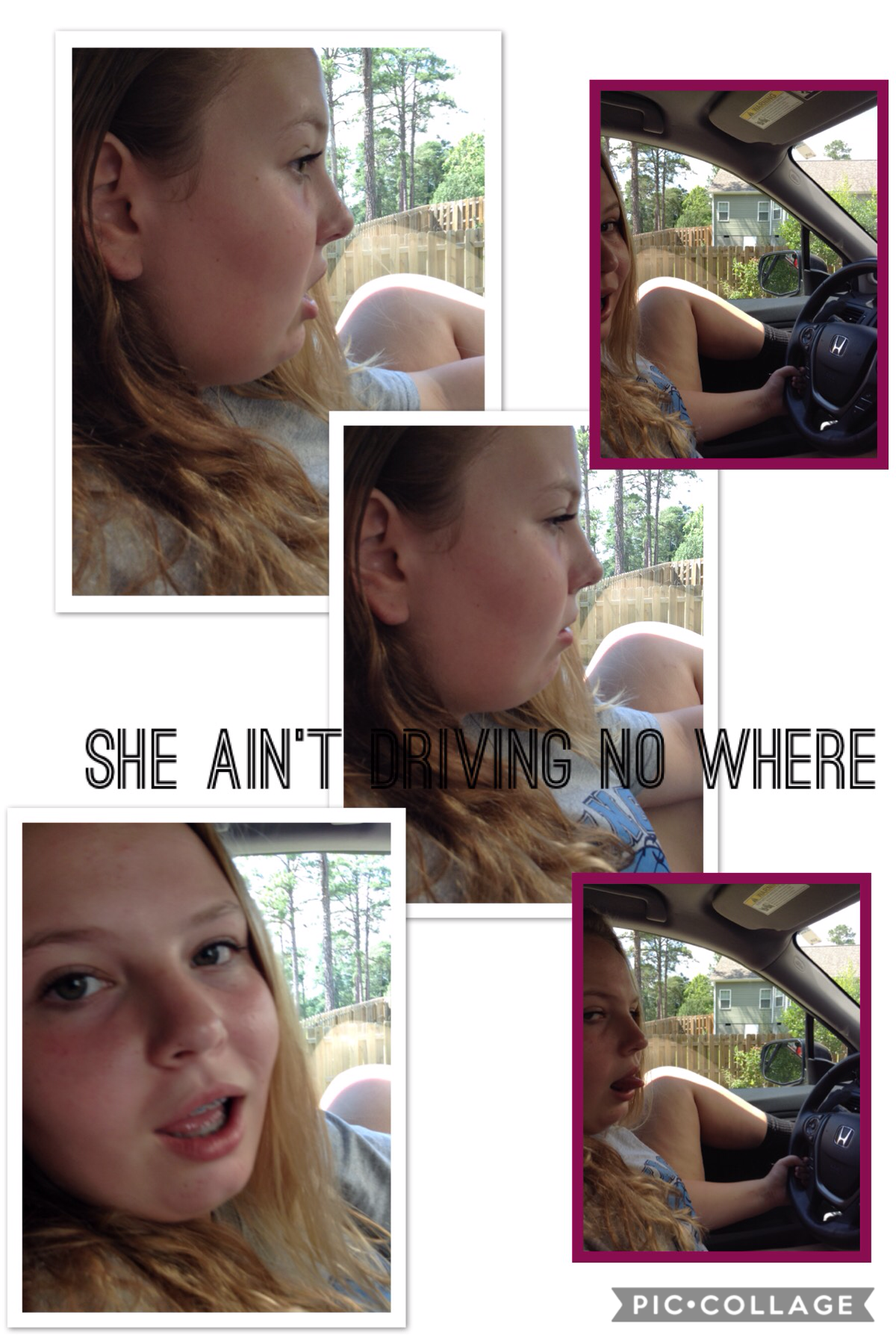 My sister has only 3years till she drives she'll fail
