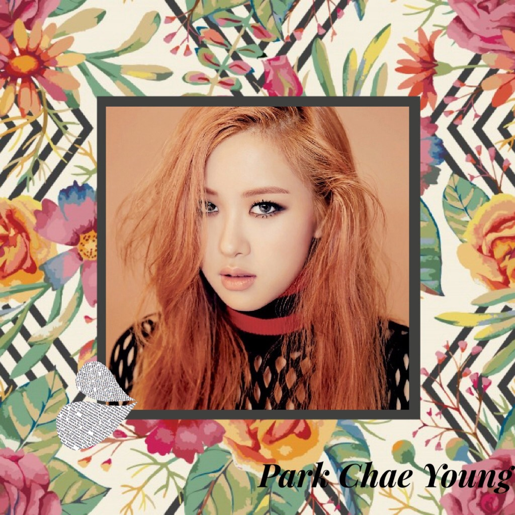 This is Park Chae Young from Blackpink