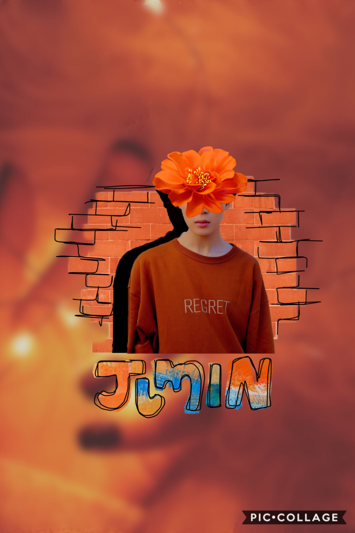 """Tap frieeeeens  Let's resurrect this account 😂  This is the initial version of a collaboration edit on my main 🧡🧡  QOTD: what's a fun fact that blew your mind?  AOTD: I just noticed """"AOTD:"""" has a sad face in it (D:)  🤯"""