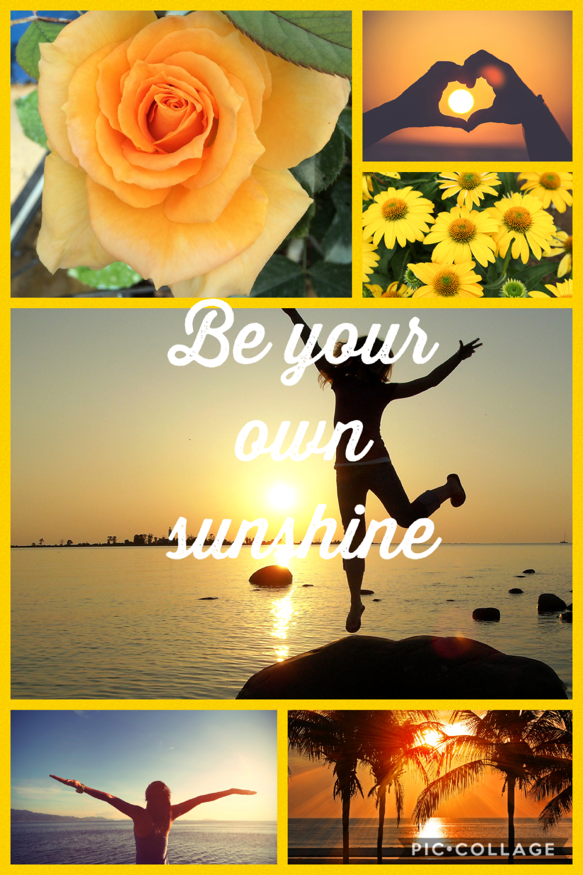 Be your own sunshine!! ☀️