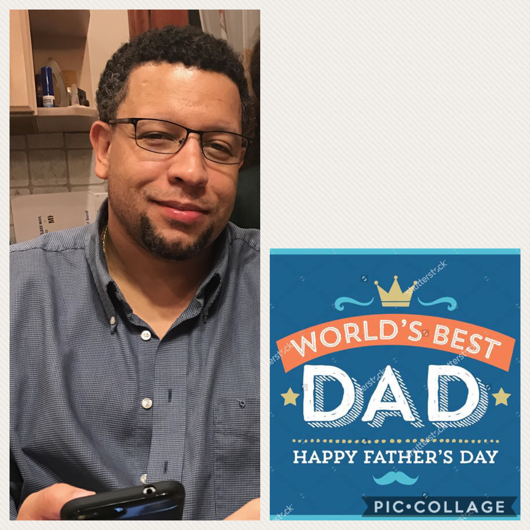 Happy Father's Day to the best dad ever