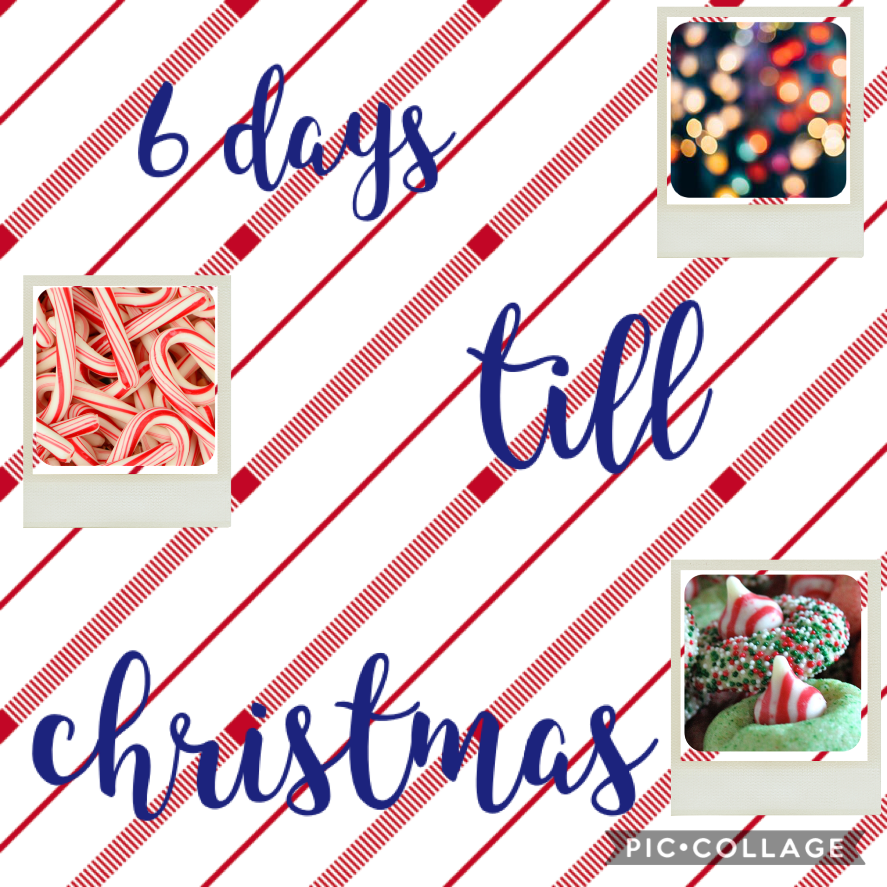 6 days till christmas i am so excited!!!
