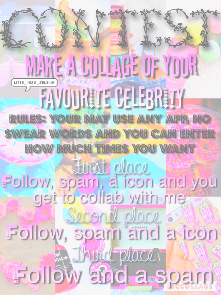 Plz enter it would mean the world to me💖💦🌟💕🦄🌺😘✨💎🍥😬💞🌸🎀🍧
