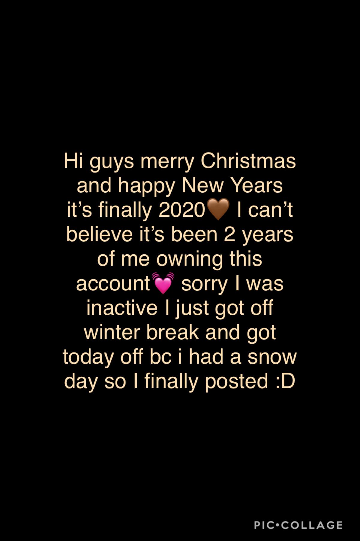Happy holidays! 💞