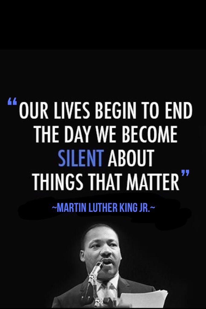 Happy MLK JR. Day!!!💖