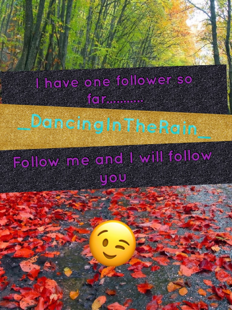 😉Follow me and I will follow you as soon as I can!!! XD