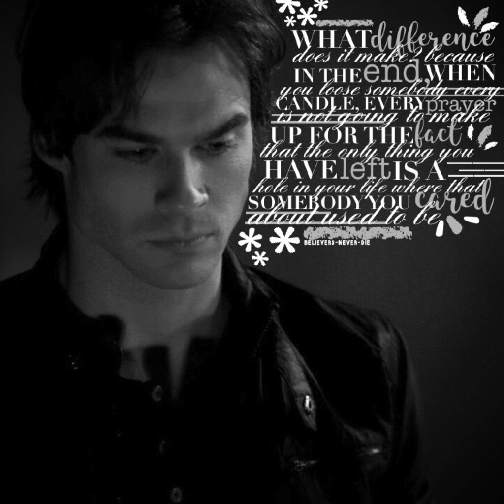 ☁️the vampire diaries // tap☁️  this is 10000% inspired by the amazing amazing amazing @GemQuotes! they are so nice and they're collages are the best! please go follow them! so im running out of inspo... *help*  q// favourite tvd character? a// damon, kai
