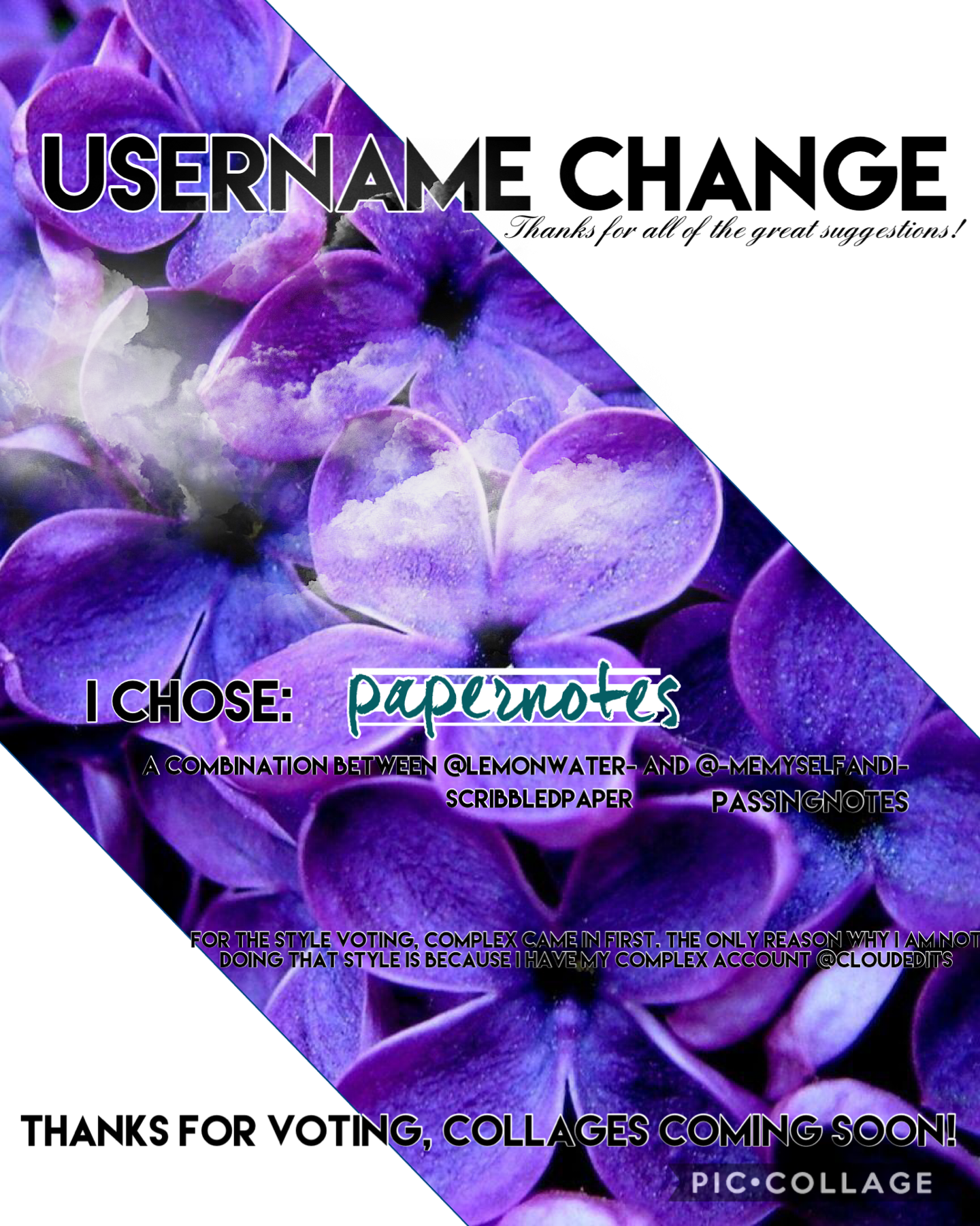 Tap I am now officially @papernotes Inspo: @paperskies for the collage layout!