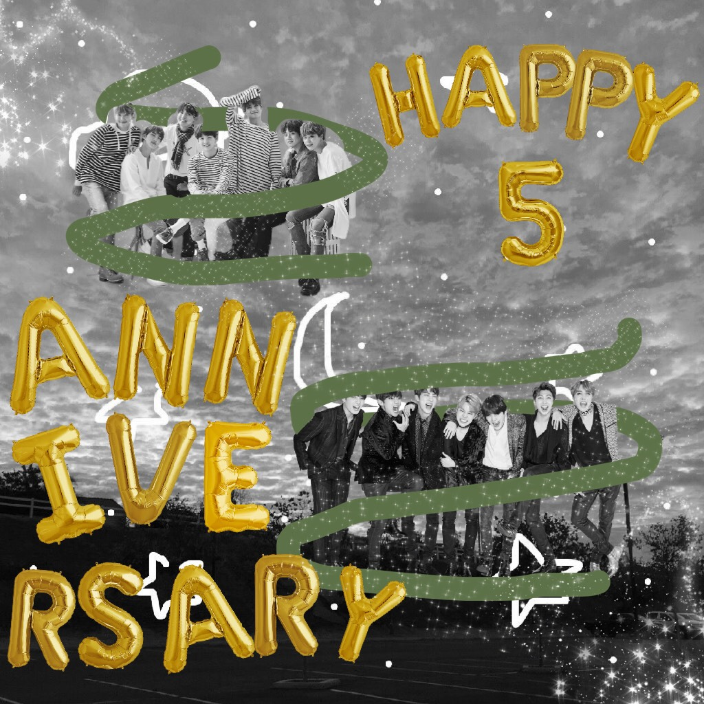 TAP I know this is la e but still Happy 5th Anniversary BTS! Keep being awesome.