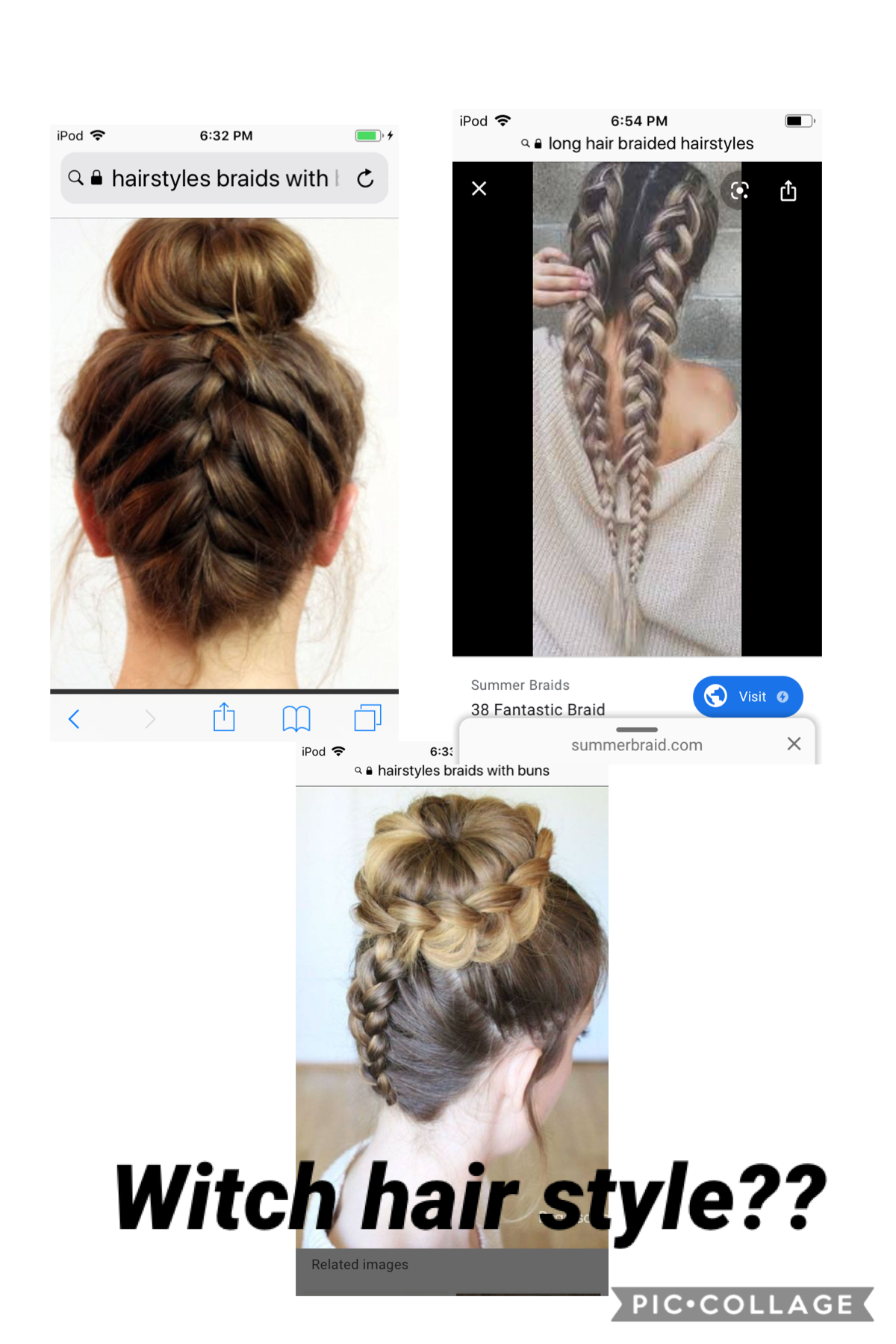 Witch hair style and I will do it😀