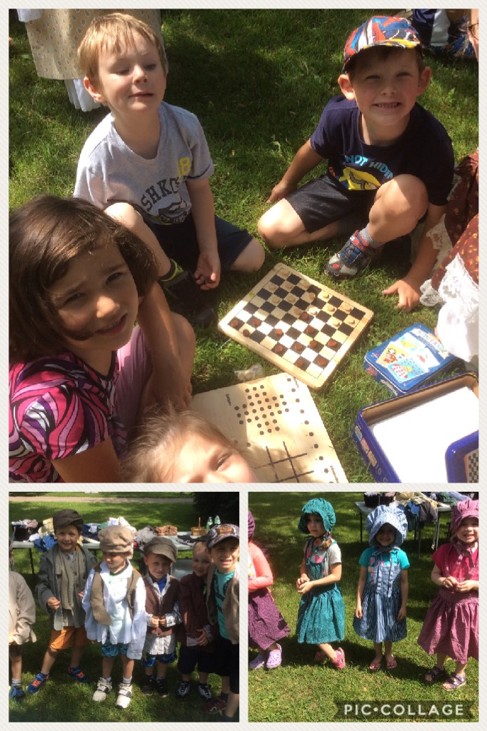 Pioneer games and fun at @OshawaMuseum #LearningIsFun