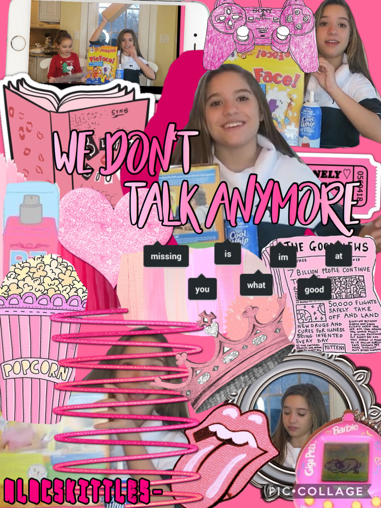 Click🎀 Pink Kenzie complex edit 😉 who likes it? and tmr I'll post my new school thingy 😂 now I know sign language 👑