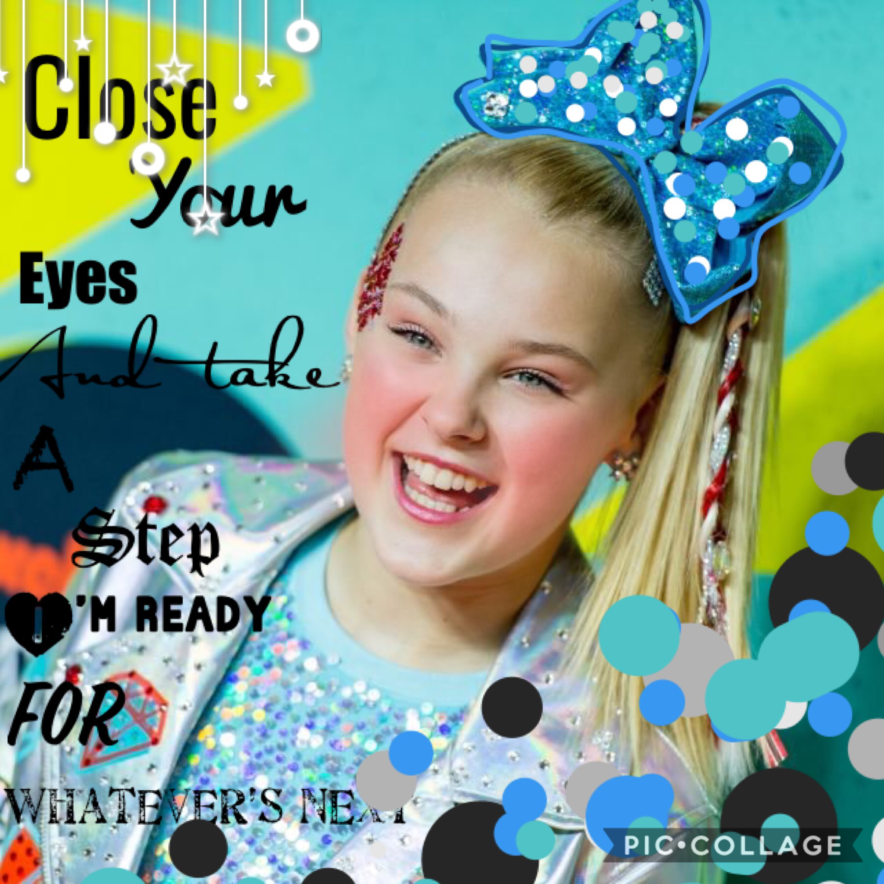 Tap🧡  QOTD: have you watched JoJo Siwa's only getting better music video yet? AOTD: YESSSSS!!!!!!!!! I LOVE IT SOOOO MUCH!!!!!!!!!!!💜😁 This collage has a lyric from JoJo Siwa's new song!