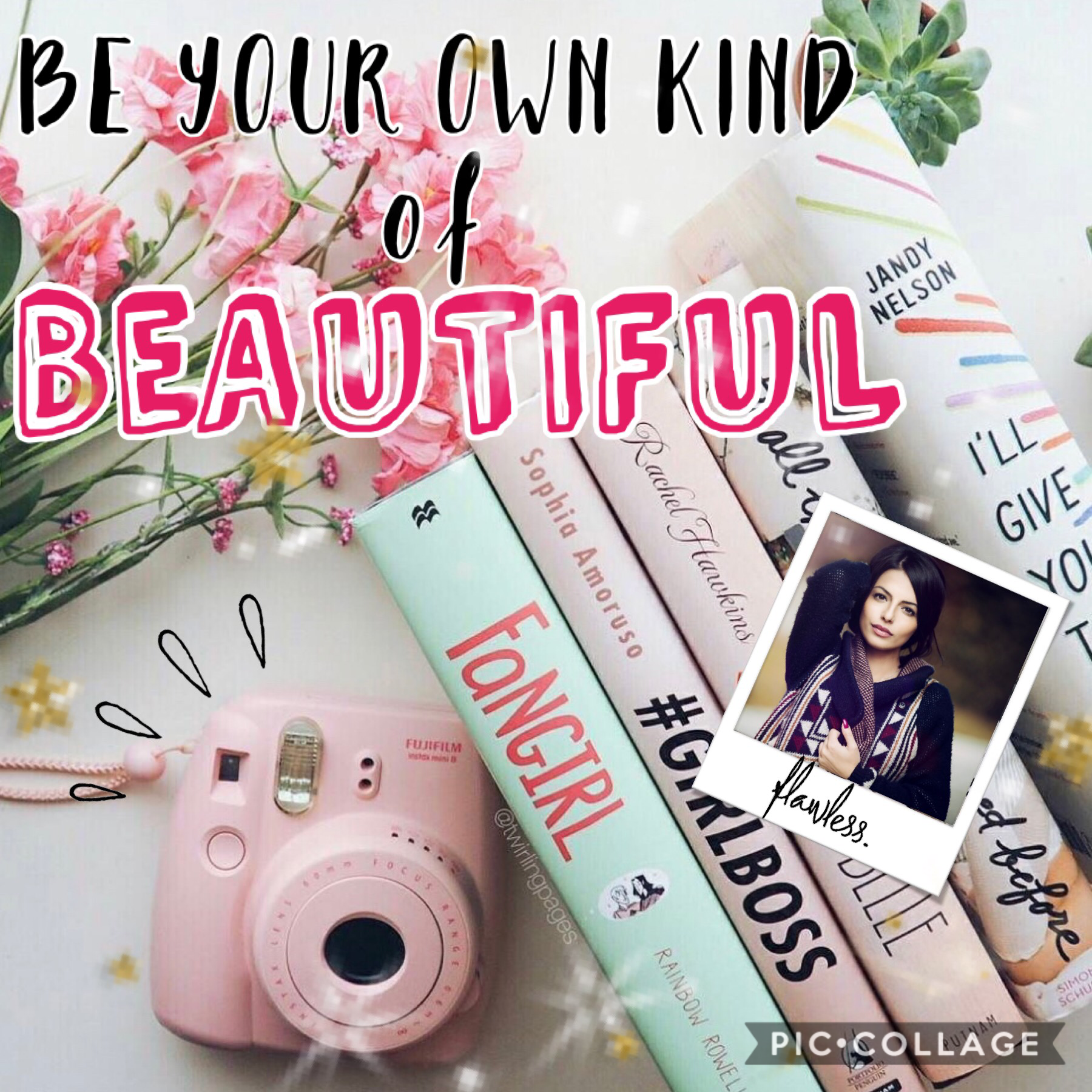 Be your own kind of beautiful 🌺 🌺
