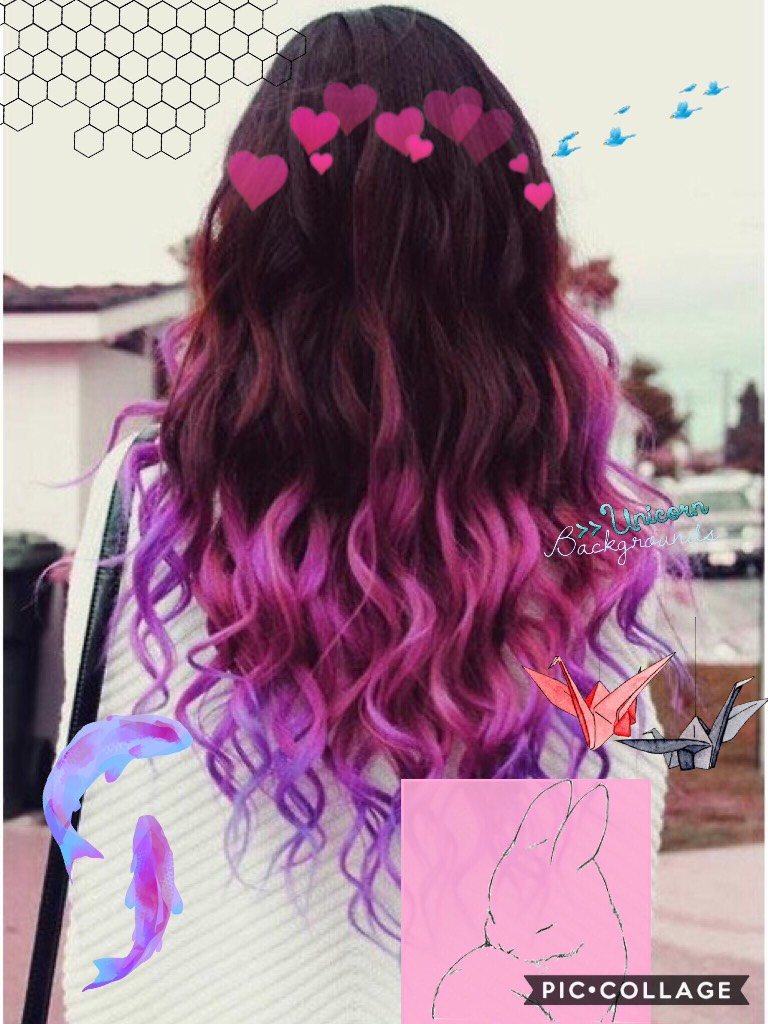 🌸Tap here🌸 Hey guys here is a ombre pink hair background❣️ if you use it please let me know by commenting💘Thx💕have a lovely day☀️