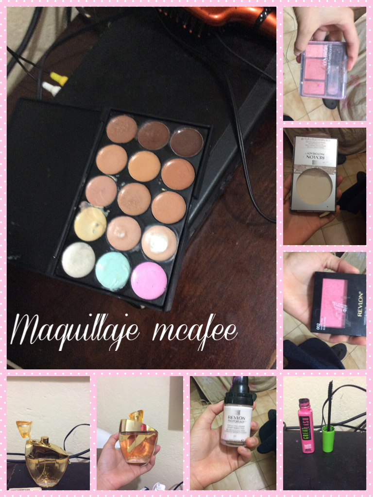 Maquillaje mcafee