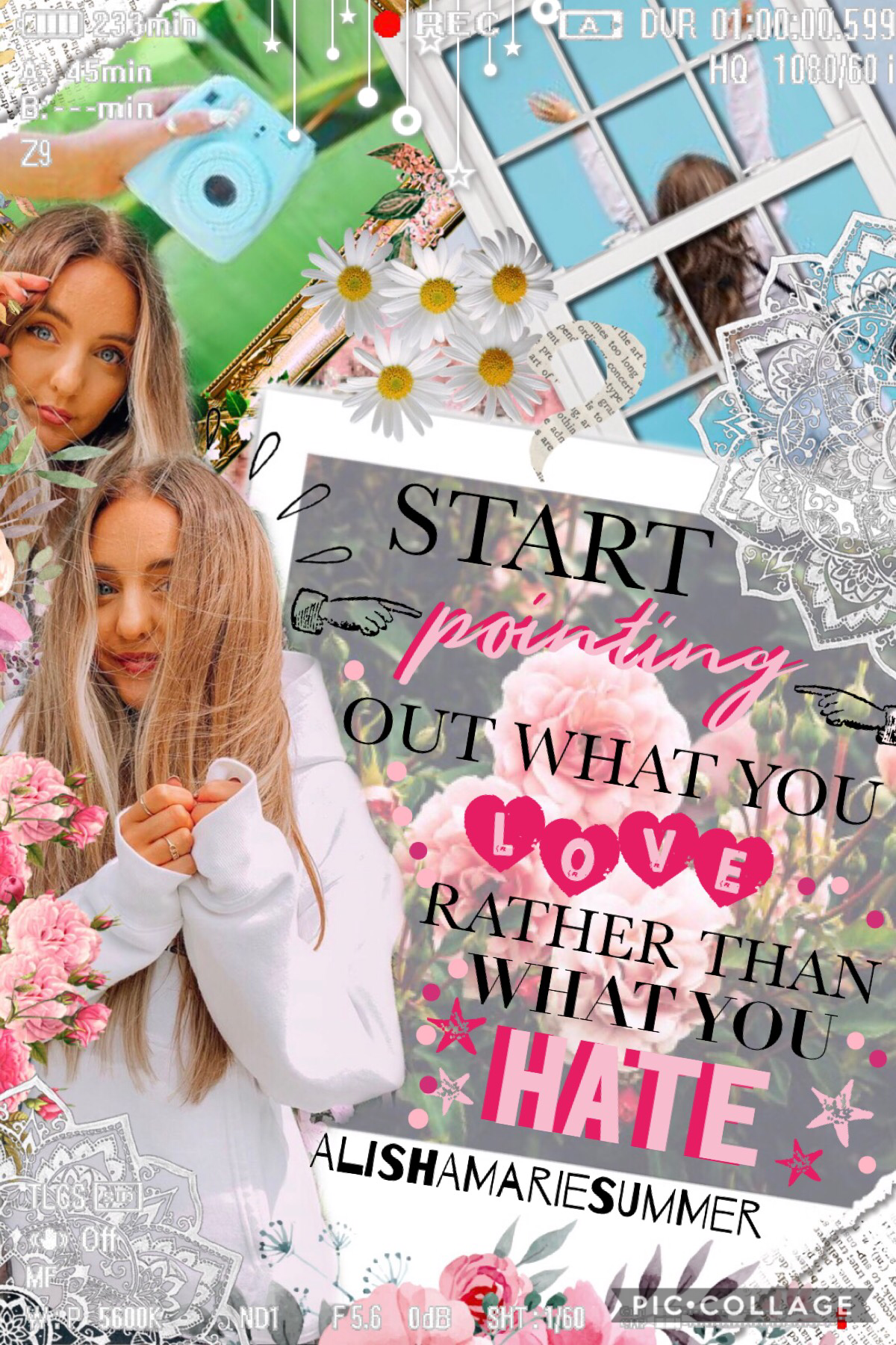 🌺TaP🌺  hey guys! hope you like this lovely Sarah Betts edit!! definitely go and check her out!! 👉🏻  QOTD: Sarah Betts or Laurdiy  AOTD: Sarah Betts