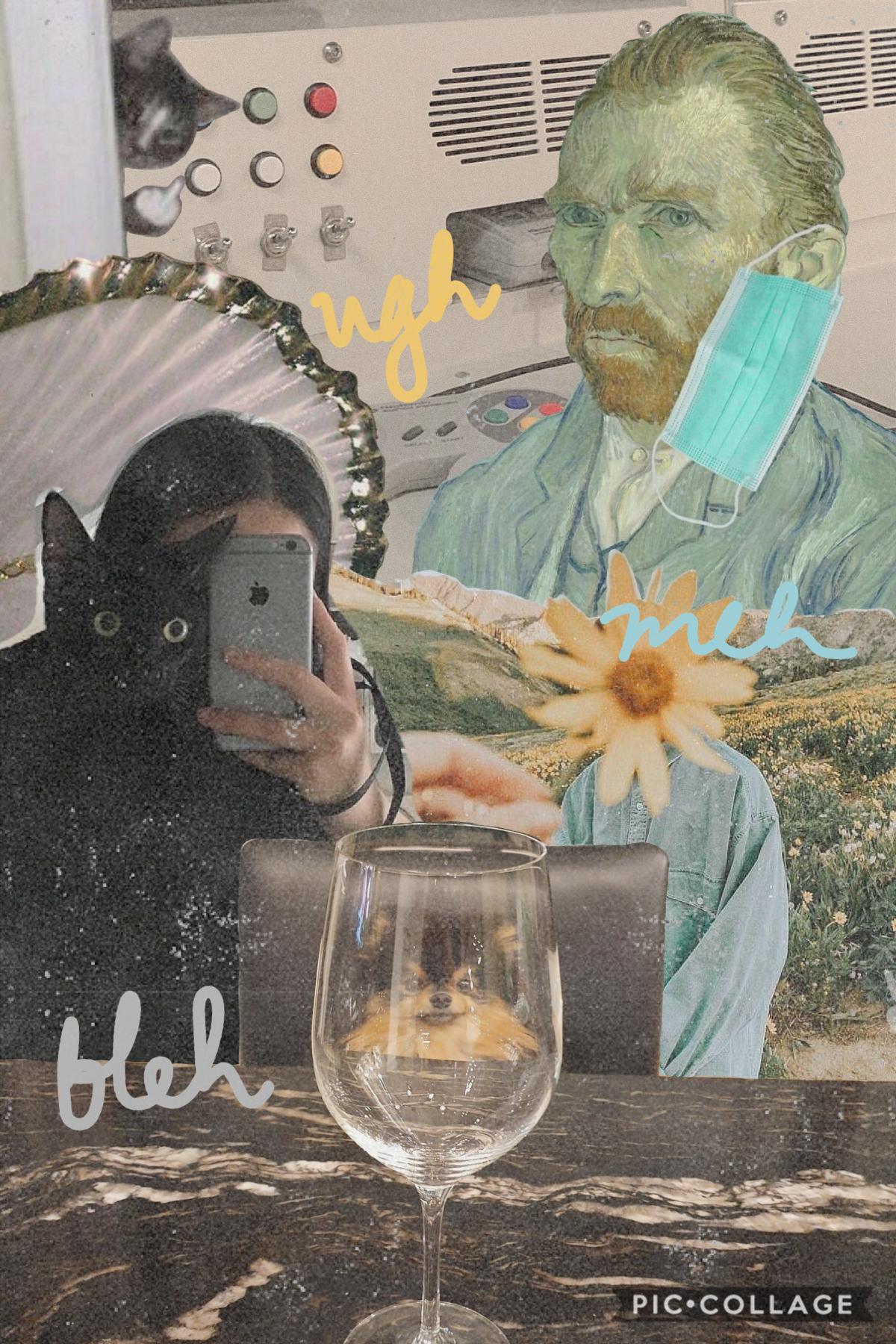 hi here's a random collage heh kbyee